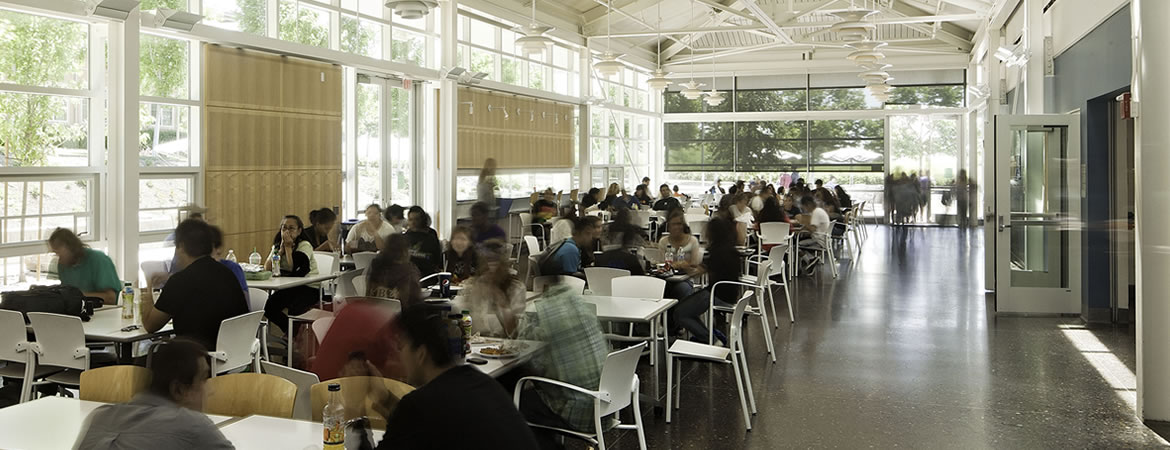 UC Merced's dining hall, Yablokoff-Wallace Dining Center