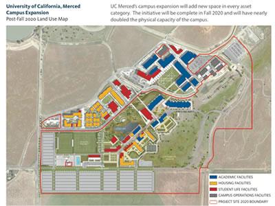 Uc Merced Map Maps | Merced 2020