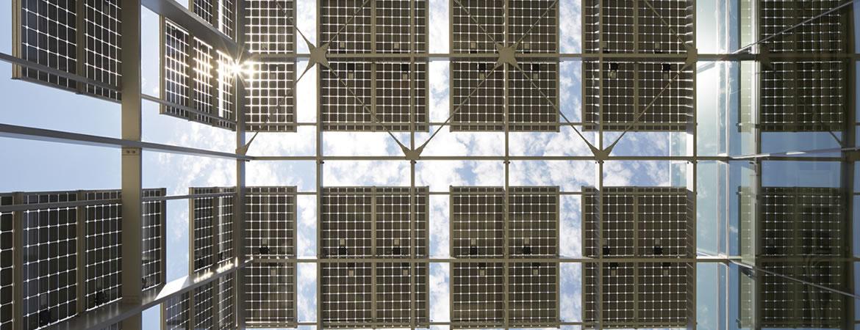 UC Merced solar panel